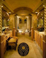 Luxurious marble bathroom designs (5)