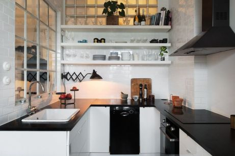 Simple but smart minimalist kitchen design (10)