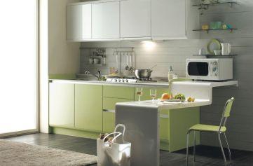 Simple but smart minimalist kitchen design (13)