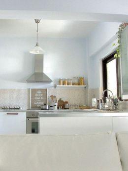 Simple but smart minimalist kitchen design (22)
