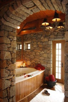 Wonderful stone bathroom designs (22)