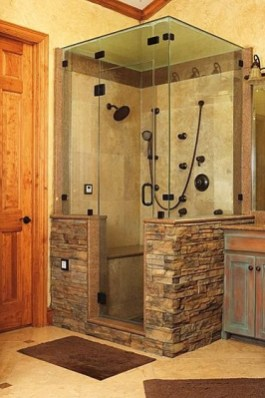 Wonderful stone bathroom designs (23)