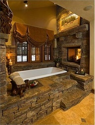 Wonderful stone bathroom designs (24)