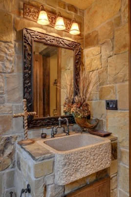 Wonderful stone bathroom designs (27)