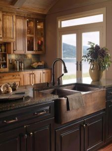 Modern farmhouse kitchen design ideas 10