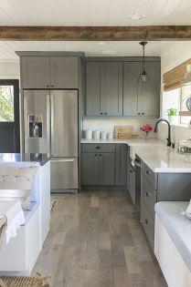 Modern farmhouse kitchen design ideas 16