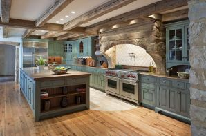 Modern farmhouse kitchen design ideas 28