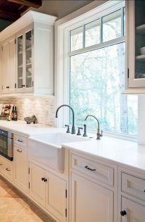 Modern farmhouse kitchen design ideas 57