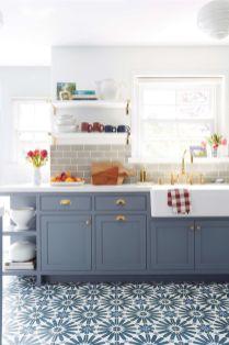 Modern farmhouse kitchen design ideas 62