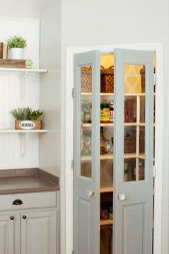 Modern farmhouse kitchen design ideas 63