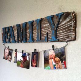 Simple diy rustic home decor ideas 27