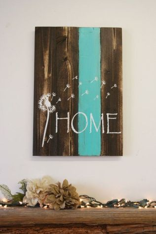 Simple diy rustic home decor ideas 42