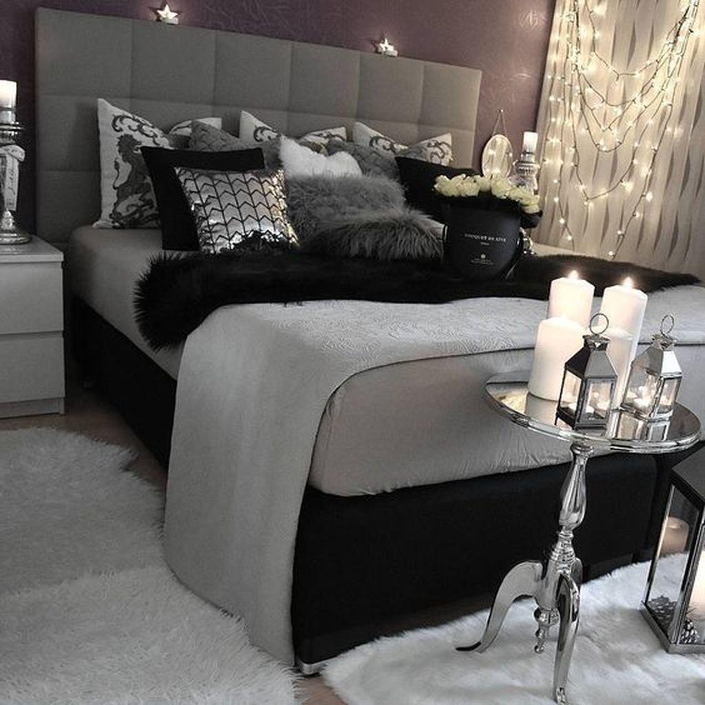 Stylish stylish black and white bedroom ideas (1)