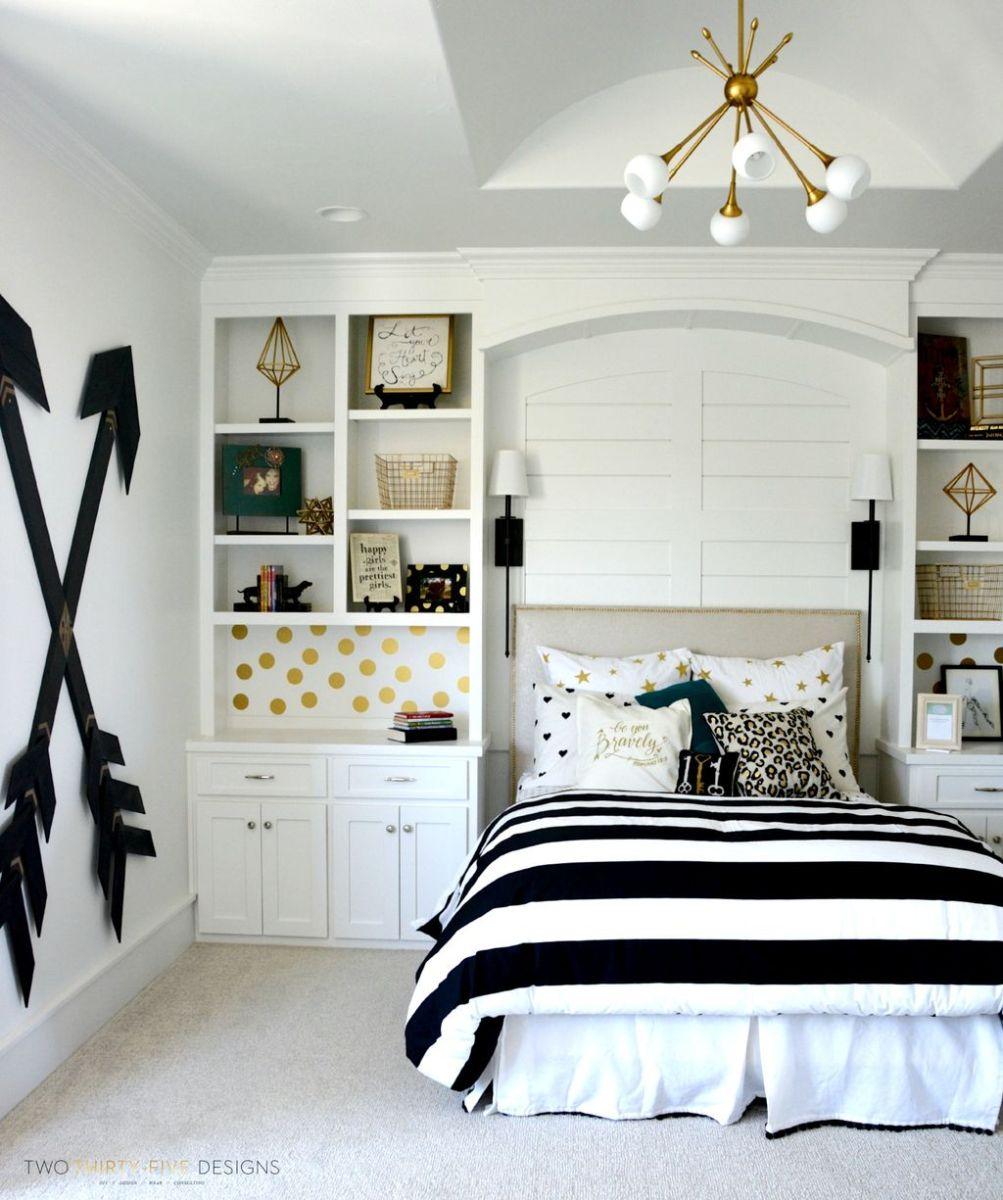 Stylish stylish black and white bedroom ideas (28)
