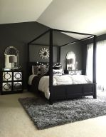Stylish stylish black and white bedroom ideas (36)