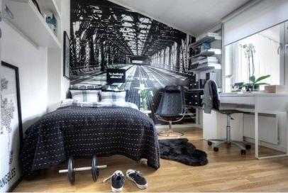 Stylish stylish black and white bedroom ideas (49)
