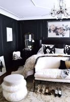 Stylish stylish black and white bedroom ideas (58)