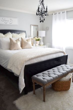Stylish stylish black and white bedroom ideas (62)