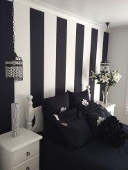 Stylish stylish black and white bedroom ideas (9)