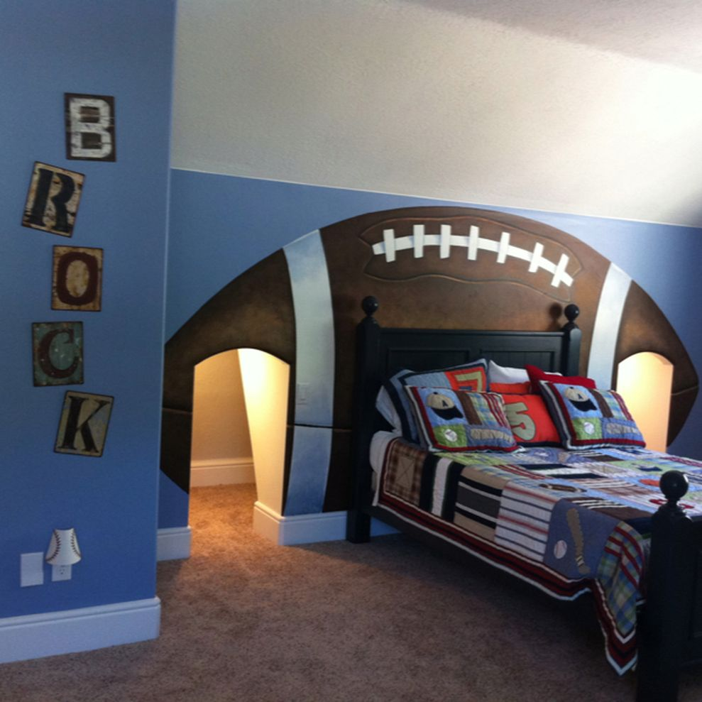 65 Adorable Bedroom Decoration Ideas for Boys