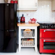 Amazing black and red kitchen decor 02
