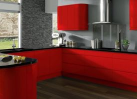 Amazing black and red kitchen decor 06