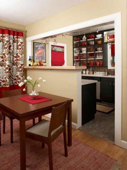 Amazing black and red kitchen decor 07