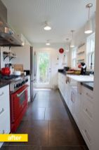 Amazing black and red kitchen decor 51
