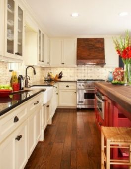 Amazing black and red kitchen decor 57