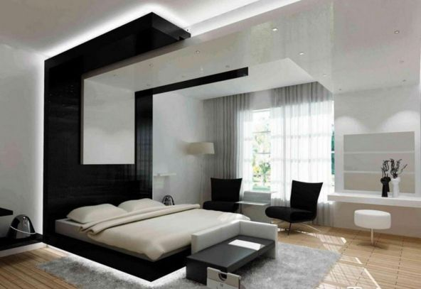 Amazing black and white furniture ideas 11