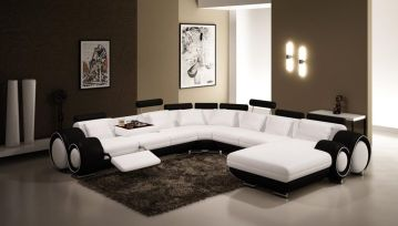 Amazing black and white furniture ideas 25