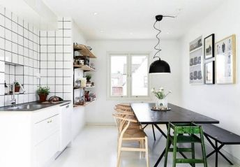 Amazing black and white furniture ideas 35