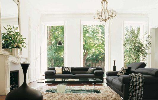 Amazing black and white furniture ideas 37