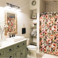 Amazing guest bathroom decorating ideas 09
