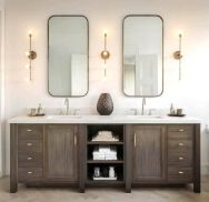 Amazing guest bathroom decorating ideas 10