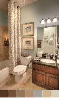 Amazing guest bathroom decorating ideas 16