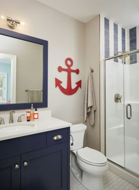 Amazing guest bathroom decorating ideas 19