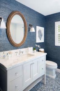 Amazing guest bathroom decorating ideas 23