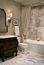 Amazing guest bathroom decorating ideas 26