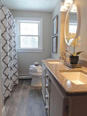 Amazing guest bathroom decorating ideas 37