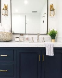 Amazing guest bathroom decorating ideas 39