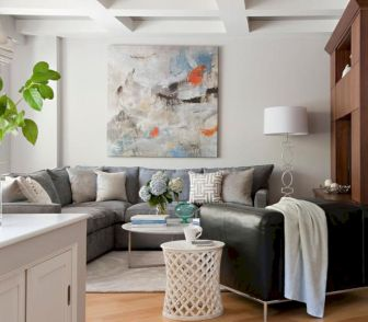 Amazing small living room decor ideas with sectional 13