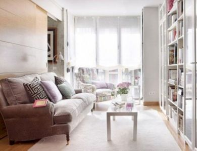 Amazing small living room decor ideas with sectional 14
