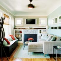 Amazing small living room decor ideas with sectional 30