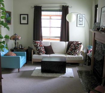 Amazing small living room decor ideas with sectional 43