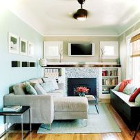 Amazing small living room decor ideas with sectional 55