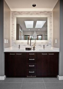 Bathroom vanity ideas with makeup station 07