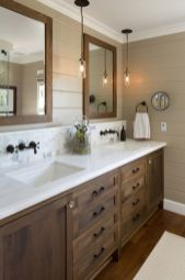 Bathroom vanity ideas with makeup station 28