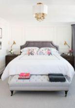 Beautiful bedroom design ideas using grey carpet 006
