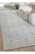 Beautiful bedroom design ideas using grey carpet 028